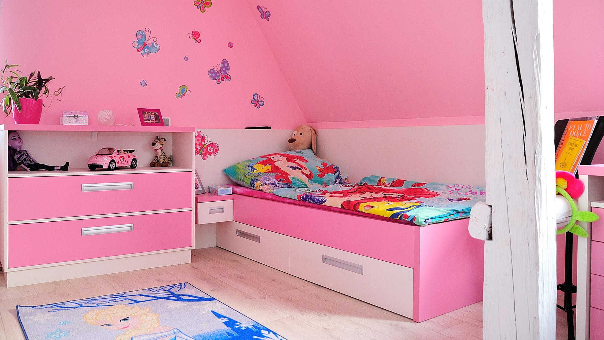 Dětské pokoje - fotogalerie