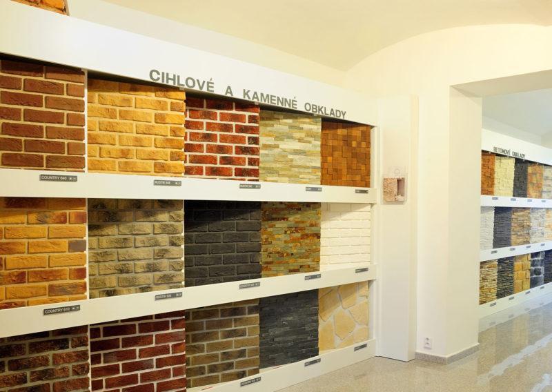 Showroom prodejny kamene