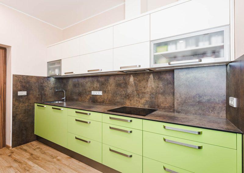 Vanilkově žlutá – Limetkově zelená